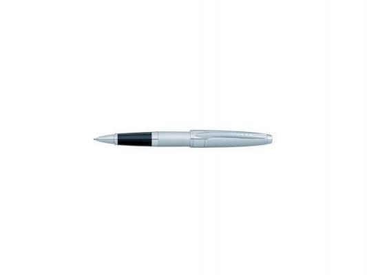 Ручка-роллер Cross Apogee Brushed Chrome чернила черные корпус серебристый AT0125-18