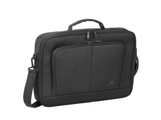 Сумка для ноутбука 15.6 Riva 8431 полиэстер черный сумка для ноутбука 10 riva 8010 полиэстер черный
