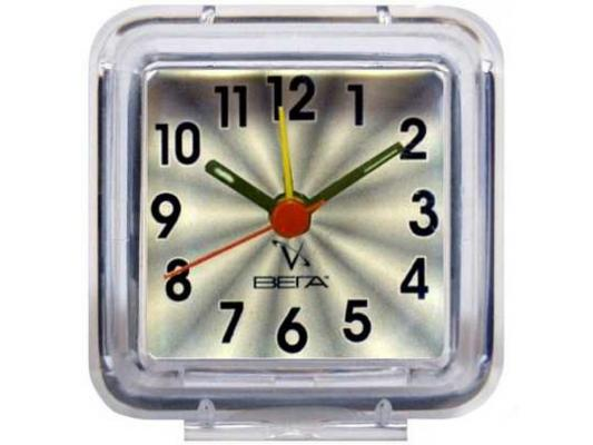 Будильник Вега Б 1-014 Серый будильник вега б 1 001 классика