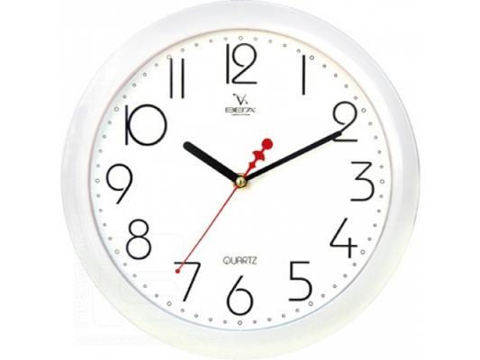 Часы настенные Вега П 1-7/7-4 часы настенные вега п 1 14 7 12
