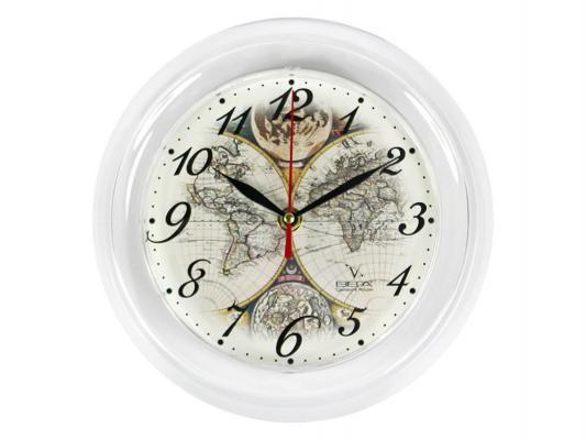 Часы настенные Вега П6-0-14 бежевый кронштейн kromax vega 50 белый
