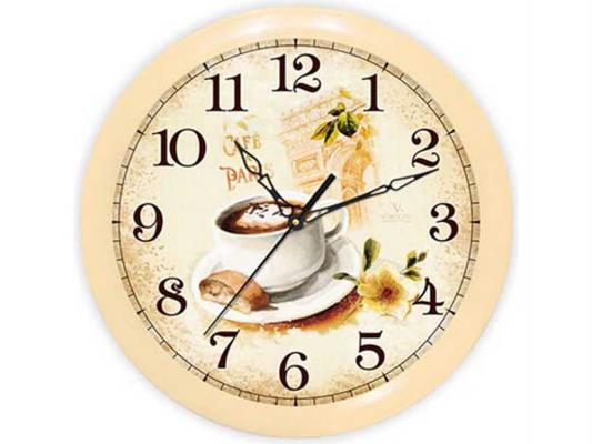 """Часы Вега """"Кофе Франция"""" П 1-14/7-220"""