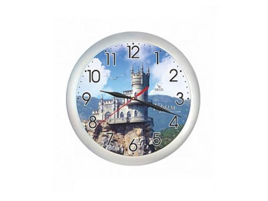 """Часы Вега """"Крым. Ласточкино гнездо"""" П 1-серебро/7-221"""