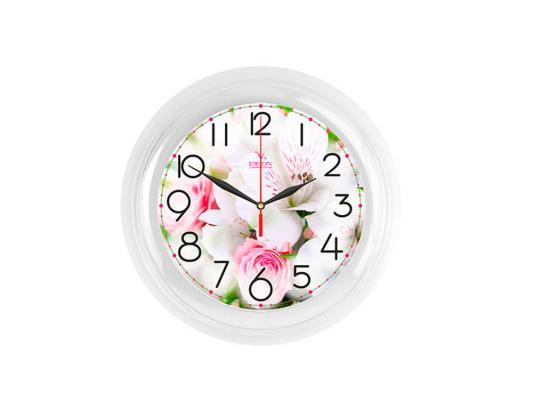 """Часы Вега """"Букет Розы Белые"""" П 6-7-106"""
