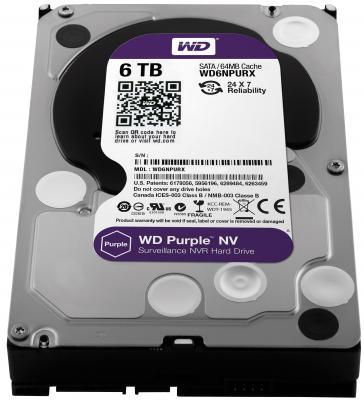 "Жесткий диск 3.5"" 6Tb Western Digital SATAIII WD6NPURX"