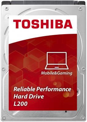 "Жесткий диск для ноутбука 2.5"" 1 Tb 5400rpm 8Mb cache Toshiba L200 HDWJ110UZSVA"