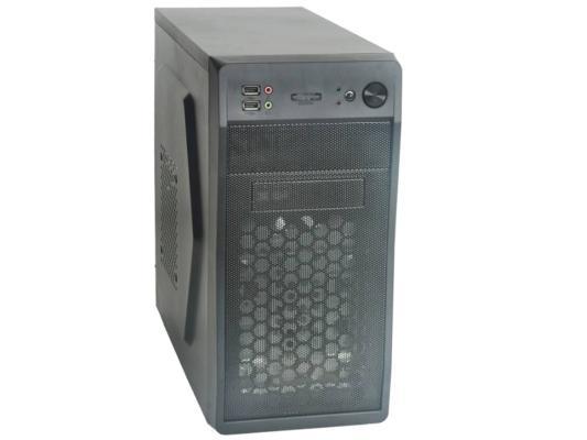 Корпус microATX Formula FM-602 450 Вт чёрный корпус microatx exegate qa 406 450 вт чёрный ex261432rus