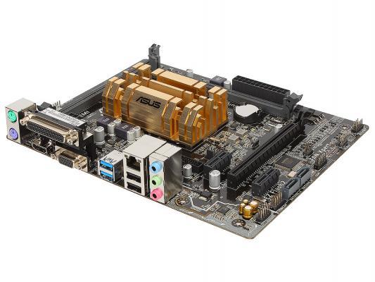 Мат. плата для ПК ASUS N3050M-E с процессором Intel 2xDDR3 1xPCI-E 16x 2xPCI-E 1x 2xSATAIII mATX Retail