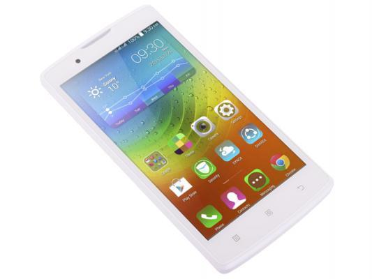 "Смартфон Lenovo A2010-A белый 4.5"" 8 Гб LTE GPS Wi-Fi PA1J0006RU"