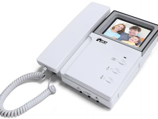Комплект видеодомофон +вызывная панель FORT Automatics C0406