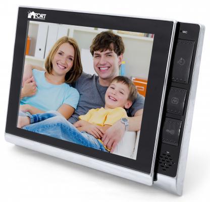 Видеодомофон FORT Automatics C0802HF-01 видеодомофон fort automatics c0406
