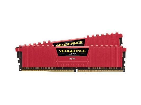 Оперативная память 8Gb (2x4Gb) PC4-21300 2666MHz DDR4 DIMM Corsair CMK8GX4M2A2666C16R память ddr4 2x8gb 2666mhz corsair cmu16gx4m2a2666c16r rtl pc4 21300