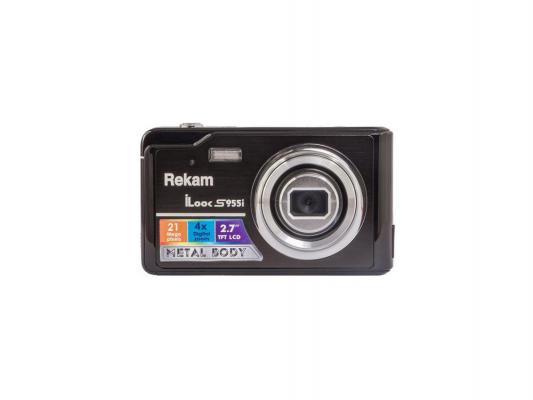 "Цифровая фотокамера Rekam iLook S955i 21 Mpx 2.7"" LCD черный"