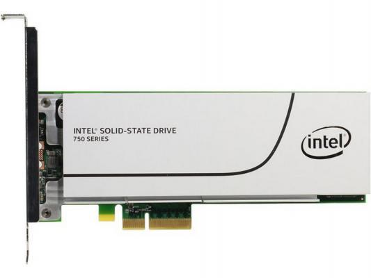 SSD Твердотельный накопитель PCI-E 400Gb Intel 750 Read 2200Mb/s Write 900Mb/s SSDPEDMW400G4X1 944775