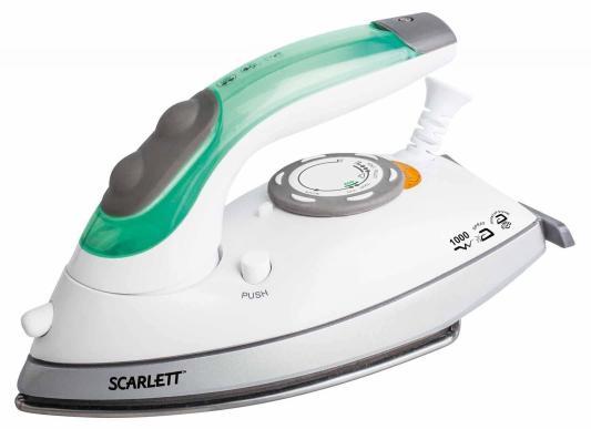 Утюг Scarlett SC-SI30T01 1000Вт белый зелёный утюг scarlett sc si30p04