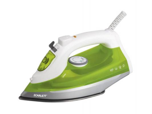Утюг Scarlett SC-SI30S04 2200Вт белый зелёный