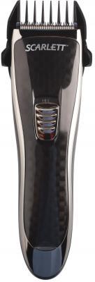 Машинка для стрижки волос Scarlett SC-HC63054 чёрный машинка для стрижки волос scarlett sc hc63054 черный