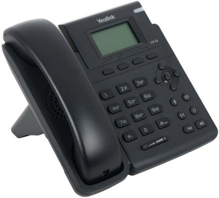 Телефон IP Yealink SIP-T19 E2 1 SIP-аккаунт 2x10/100Mbps 2.3 LCD телефон voip yealink sip t19 e2 sip телефон 1 линия