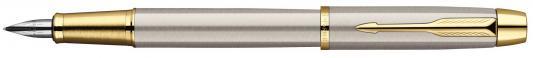 Перьевая ручка Parker IM Metal F223 Brushed Metal GT F S0856230