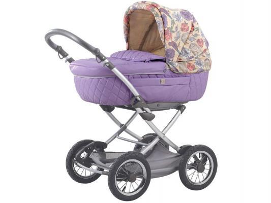 Коляска для новорожденных Happy Baby Charlotte (violet)