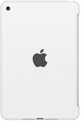 Чехол (клип-кейс) Apple Silicone Case для iPad mini 4 белый MKLL2ZM/A