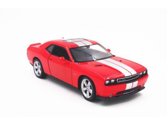 Автомобиль Welly Dodge Challenger SRT 1:24 красный 24049 в ассортименте автомобиль welly audi r8 v10 1 24 белый 24065