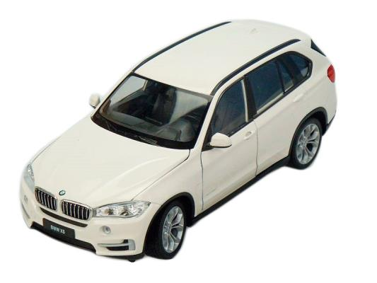 Автомобиль Welly BMW X5 1:24 белый 24052