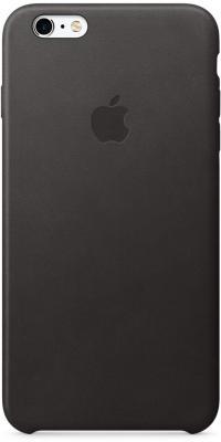 Apple Чехол (клип-кейс) Apple Leather Case для iPhone 6S Plus iPhone 6 Plus чёрный MKXF2ZM/A