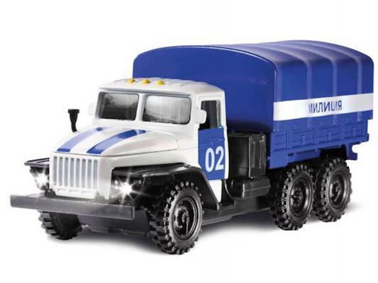 Купить Полицейская машина Технопарк Урал синий 1 шт 19 см URAL-03