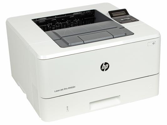 Принтер HP LaserJet Pro M402n C5F93A ч/б A4 38ppm 600x600dpi 128Mb Ethernet USB