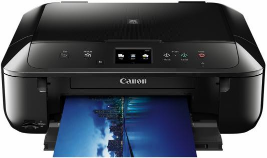 МФУ Canon PIXMA MG6840 цветное A4 15ppm 4800x1200 Duplex Wi-Fi USB черный 0519C007