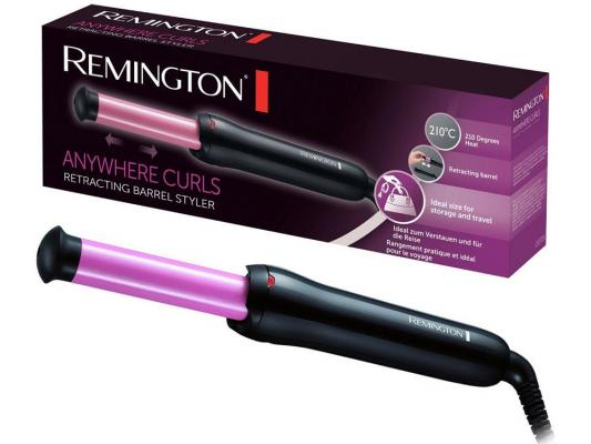 Щипцы Remington CI2725 чёрный щипцы remington ci2725 anywhere curls складн керам покр 25мм 210°c чехол