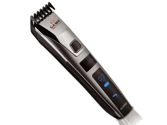 Машинка для стрижки волос GA.MA GC 572 серебристый чёрный