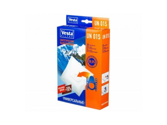 Комплект пылесборников Vesta UN 01 S 4шт цена