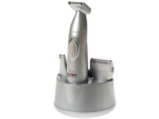 Машинка для стрижки волос GA.MA 6IN1 серебристый