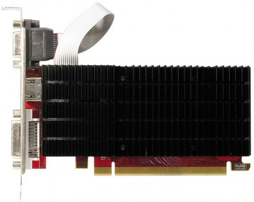 Видеокарта 2048Mb PowerColor HD5450 PCI-E DVI HDMI AX5450 2GBK3-SHV7E Retail видеокарты powercolor radeon hd 5450 650mhz pci e 2 1 2048mb 800mhz 64 bit dvi hdmi hdcp