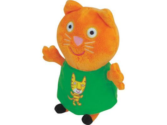 Мягкая игрушка кошка Peppa Pig Кенди с тигром текстиль оранжевый 20 см 29622 peppa pig транспорт 01565