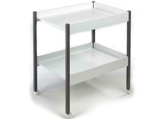 Стол для пеленания Geuther Maddy (белый/серый)