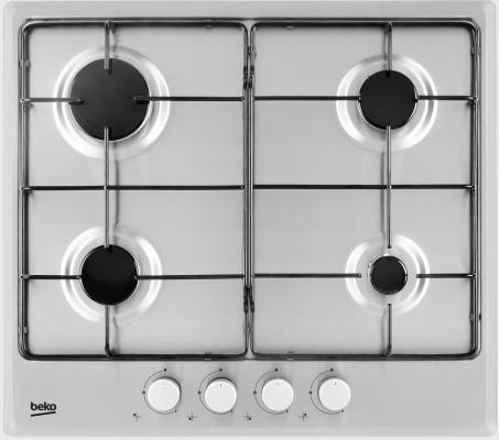 Варочная панель газовая Beko HIMG 64223 X серебристый