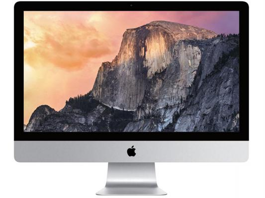 "Моноблок Apple iMac 27"" Retina 5K MK462RU/A IPS 5120x2880 глянцевый i5 3.2GHz 8Gb 1Tb AMD R9 M380-2Gb Bluetooth Wi-Fi  OS X El Capitan"