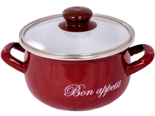 Кастрюля INTEROS 2234 4 л 21 см кастрюля interos 2234 bon appetit