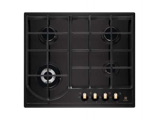 Варочная панель газовая Electrolux EGH96343BR черный