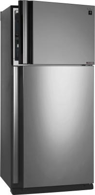 Холодильник Sharp SJXE55PMSL серебристый холодильник sharp sjxe55pmsl