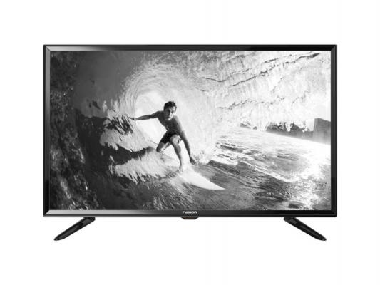 "Телевизор 32"" FUSION FLTV-32T21 черный 1366x768 50 Гц USB VGA"
