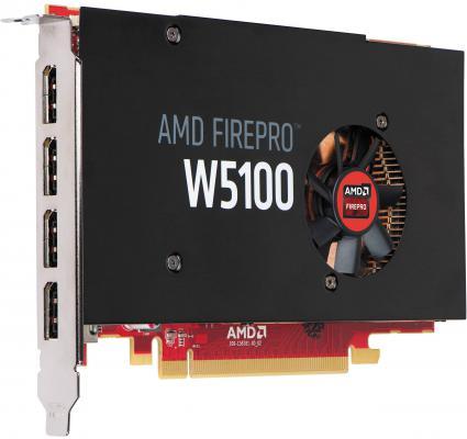 Видеокарта 4096Mb HP FirePro W5100 PCI-E 4xDP J3G92AA