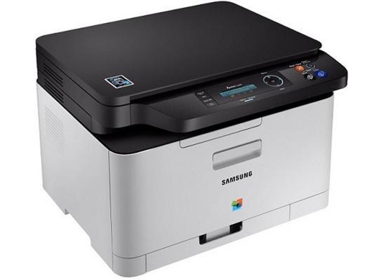 МФУ Samsung SL-C480/XEV цветное А4 18ppm 600x600dpi USB мфу лазерное samsung sl c480