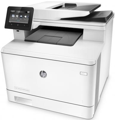 МФУ HP Color LaserJet Pro M477fdn CF378A цветное A4 27ppm 1200x1200dpi Ethernet USB sephora collection color hit лак для ногтей 158