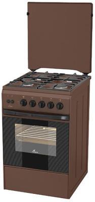 Газовая плита Flama FG 2426 B коричневый