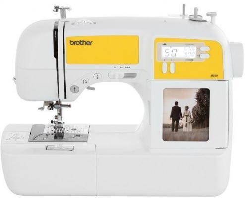 Швейная машина Brother MS-60 белый швейная машина brother ms 40 цена