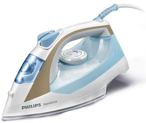 Утюг Philips GC3569/20 2400Вт пар 40г/мин удар 160г/мин бело-синий